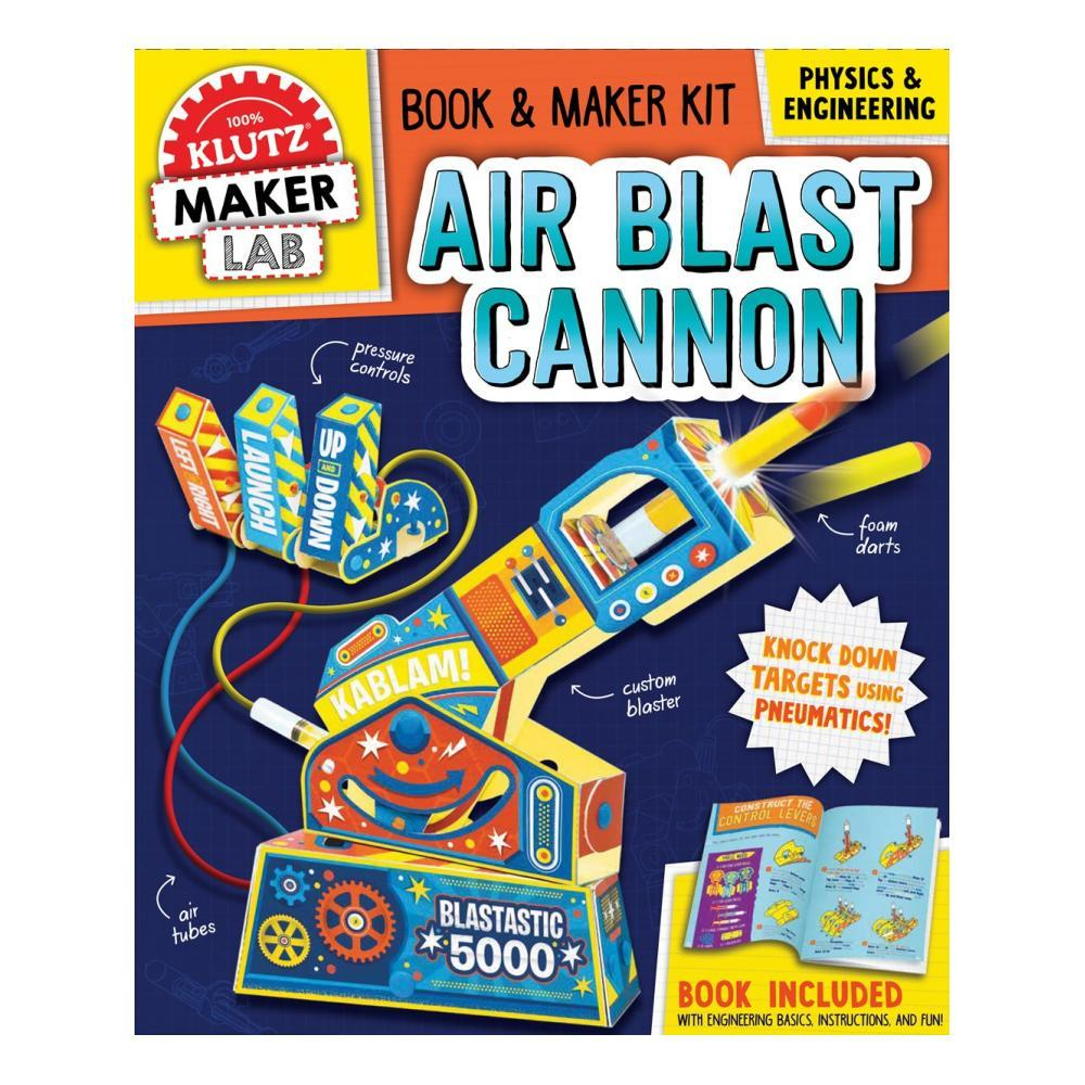 Klutz Maker Lab Air Blast Cannon Activity Kit