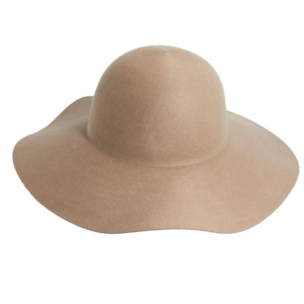 Dorfman-Pacific Co. Women's Floppy Felt Wool Hat CAMEL