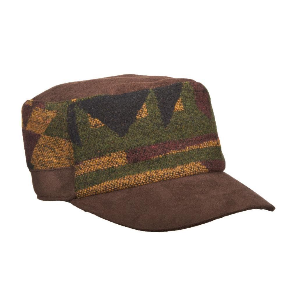 Dorfman-Pacific Co. Cadet Wool Blend Hat OLIVE