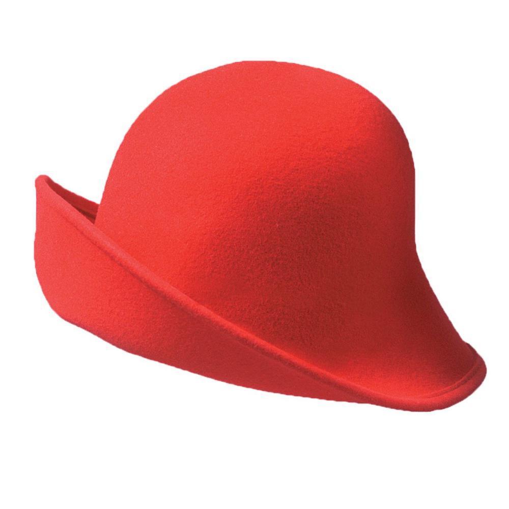 Dorfman-Pacific Co. Scala Women's Six Ways Hat RED