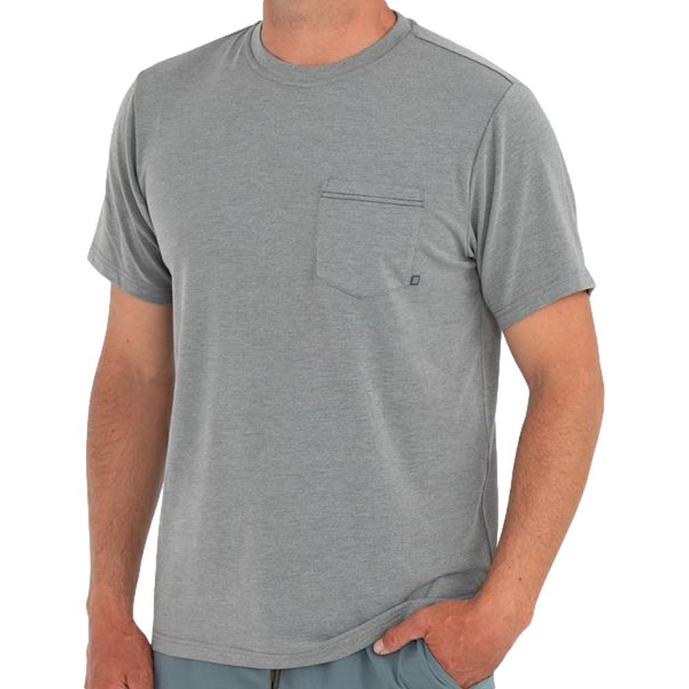 Free Fly Men's Flex Pocket Tee GRAPHITE111
