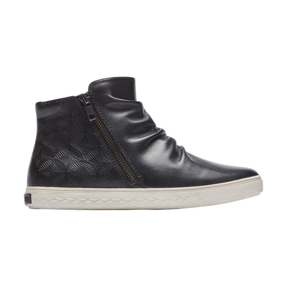 Cobb Hill Women's Willa High Top Shoes BLACKLTHR