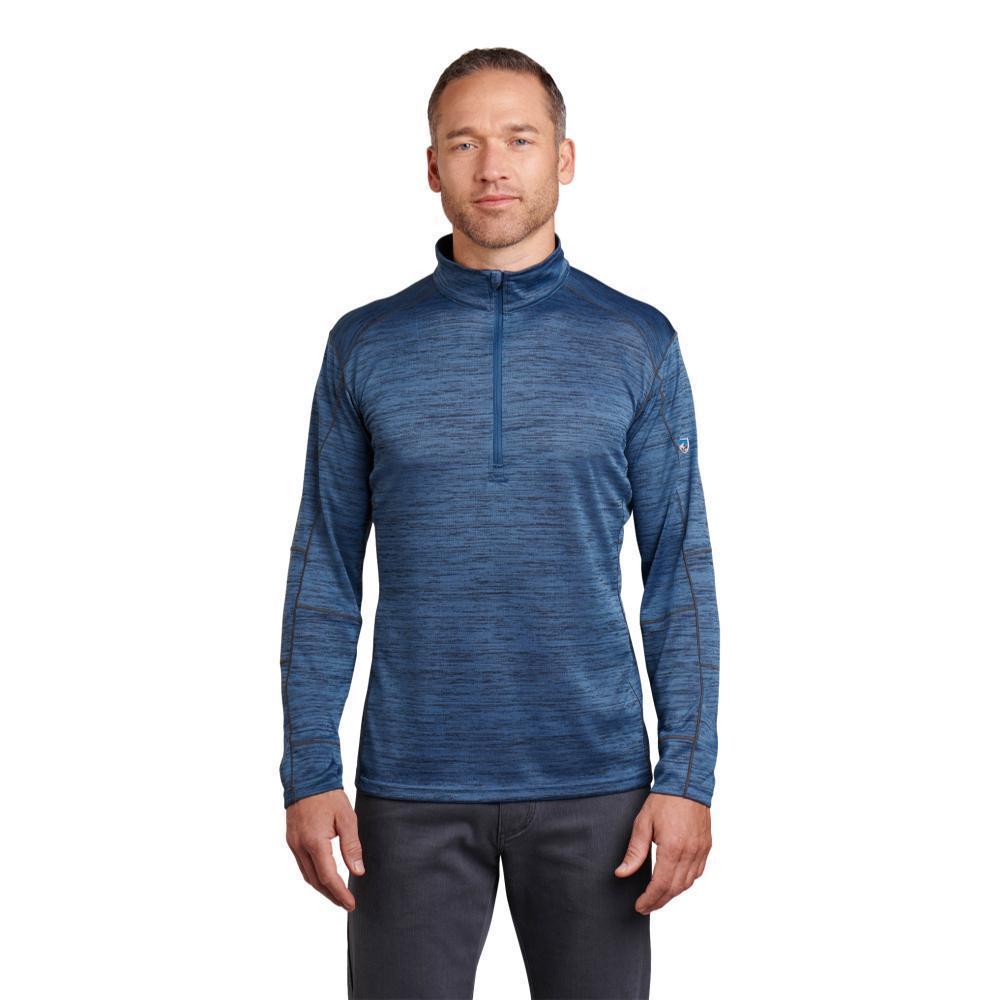 KUHL Men's Alloy 1/4 Zip Sweater COSMOS