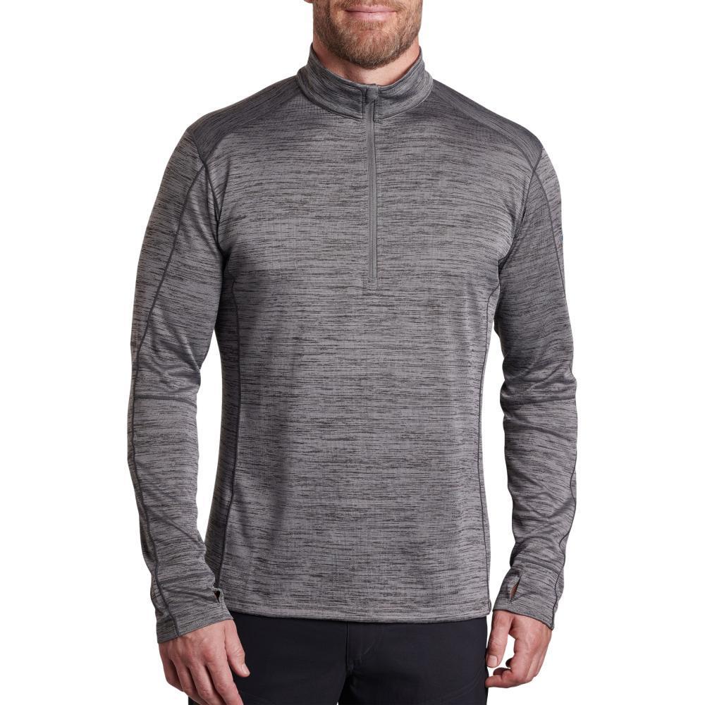 KUHL Men's Alloy 1/4 Zip Sweater SHALE