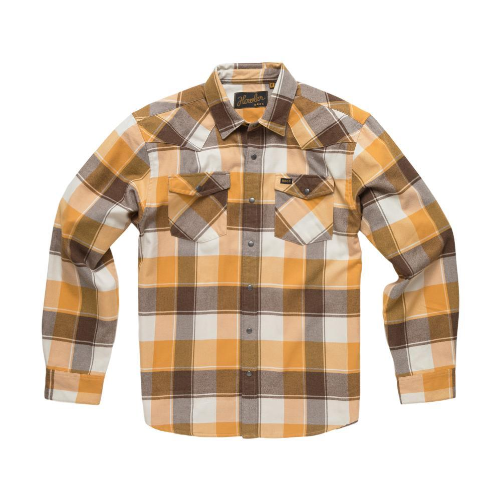 Howler Brothers Stockman Flannel Long Sleeve Snapshirt DIRTTRACK