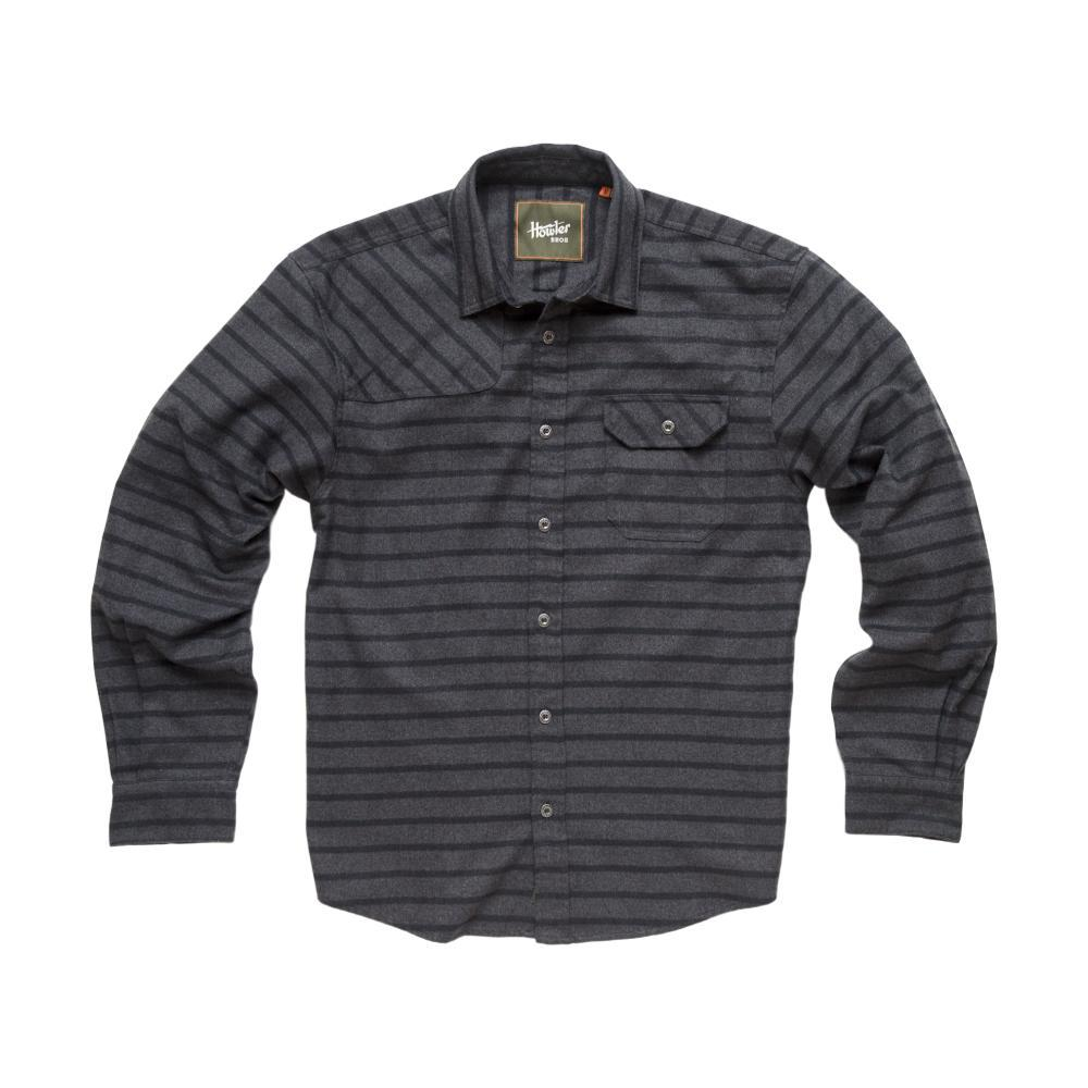 Howler Brothers Men's Harker's Flannel Long Sleeve Shirt CHARCOAL