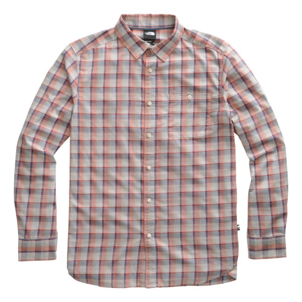 The North Face Men's Long Sleeve Hayden Pass 2.0 Shirt GREY_GG6
