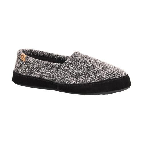 Acorn Men's Moc Slippers Blktweed