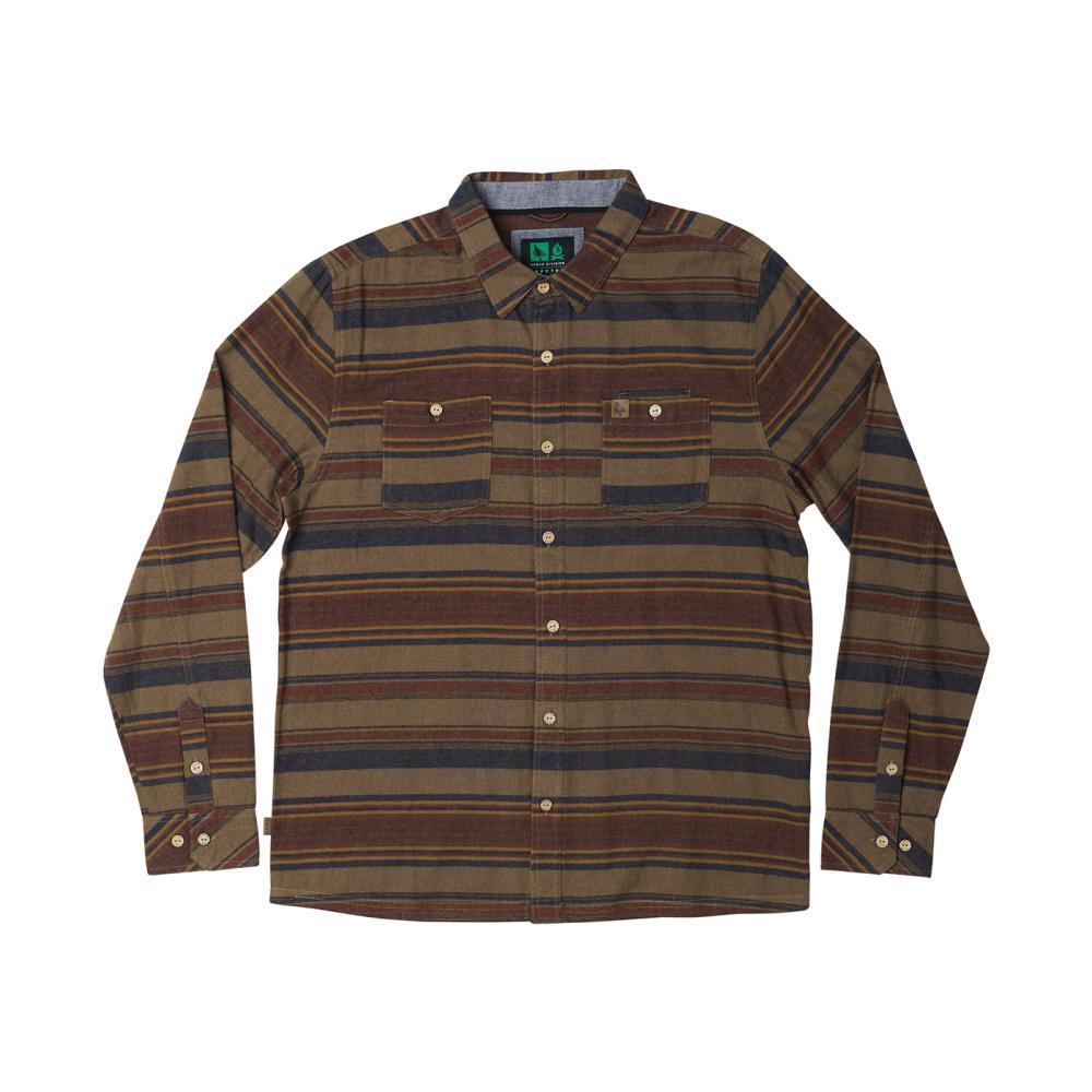 Hippy Tree Men's Ashbury Flannel Shirt TAN