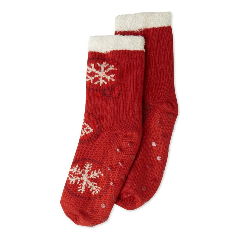 Life is Good Women's Ornament Fun Double Snuggle Socks AMERICANRED