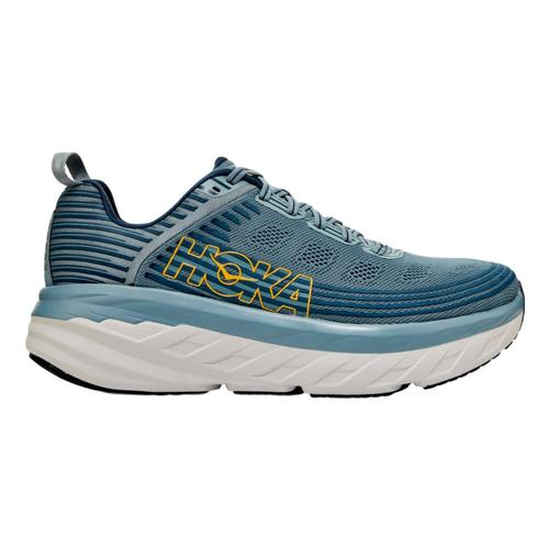 HOKA ONE ONE Men's Bondi 6 Running Shoes Lead.Mblu_lmcb
