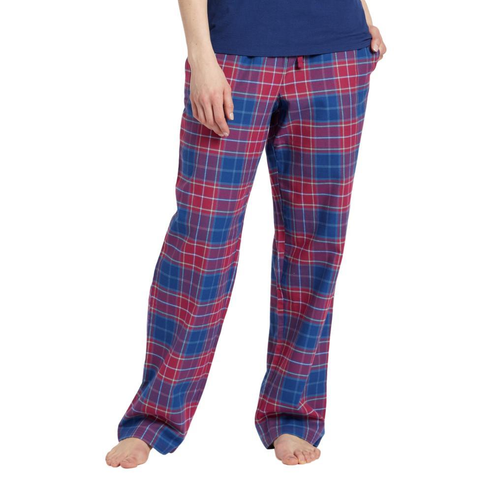 Life is Good Women's Sleepy Cherry Plaid Classic Sleep Pants WILDPLAID