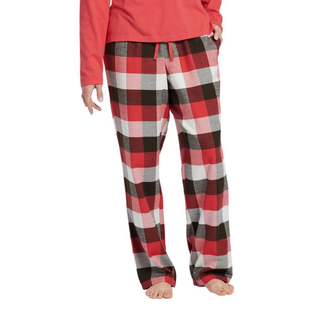 Life is Good Women's Sleepy Red Plaid Classic Sleep Pants AMERICARED
