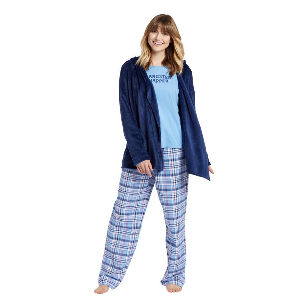 Life is Good Women's Sleepy Cozy Open Sleep Hoodie DARKESTBLUE