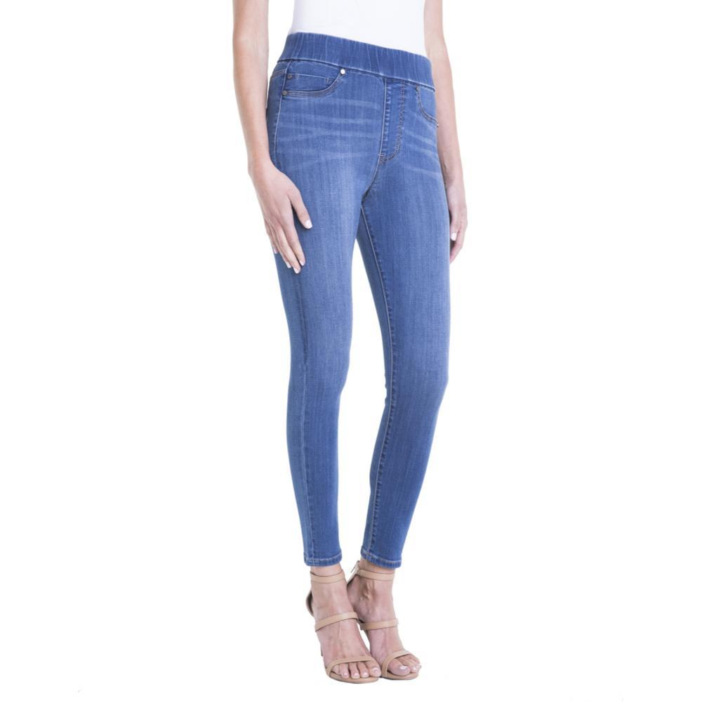 Liverpool Women's Farrah Highwaist Pull-On Ankle Jeans CORONADO