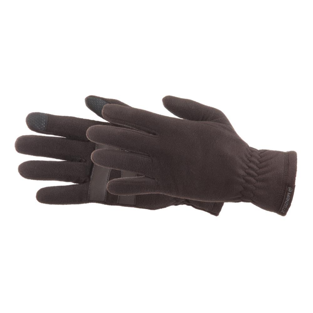 Manzella Men's Tahoe Ultra TouchTip Gloves BLACK