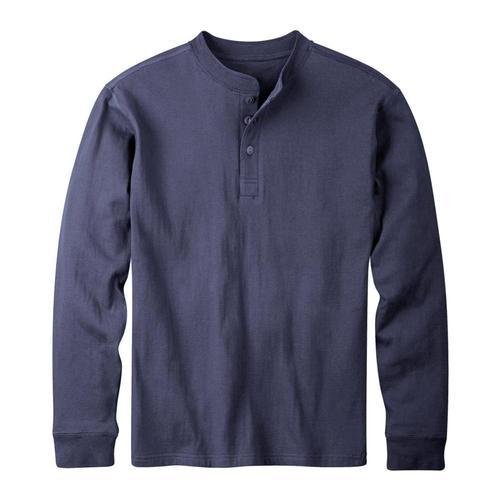Mountain Khakis Men's Trapper Henley Shirt Navy