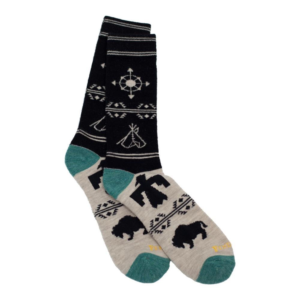 Pendleton Unisex Navigator Camp Socks BLACK