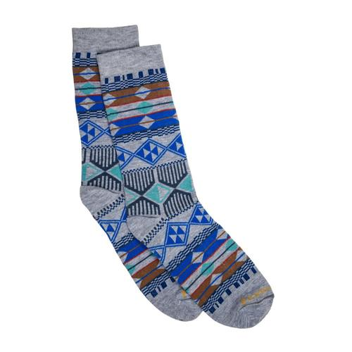 Pendleton Unisex Southern Highlands Crew Socks Lightgray