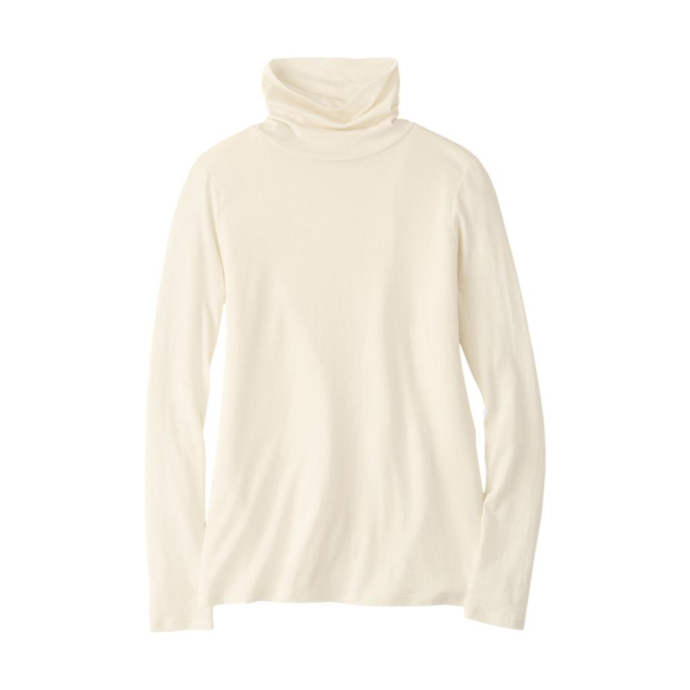 Pendleton Women's Long Sleeve Turtleneck Jersey Tee IVORY
