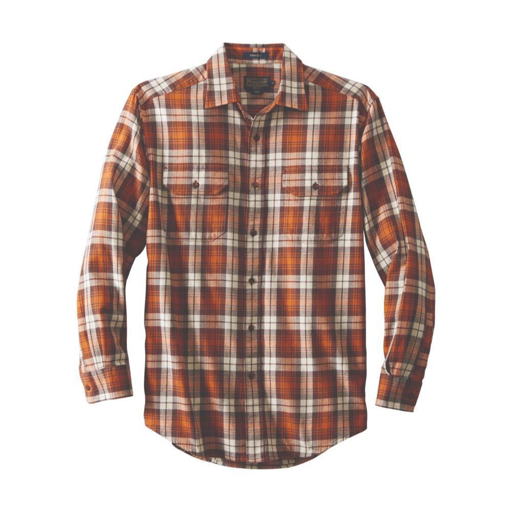 Pendleton Men's Bridger Twill Shirt BROWNCREAM