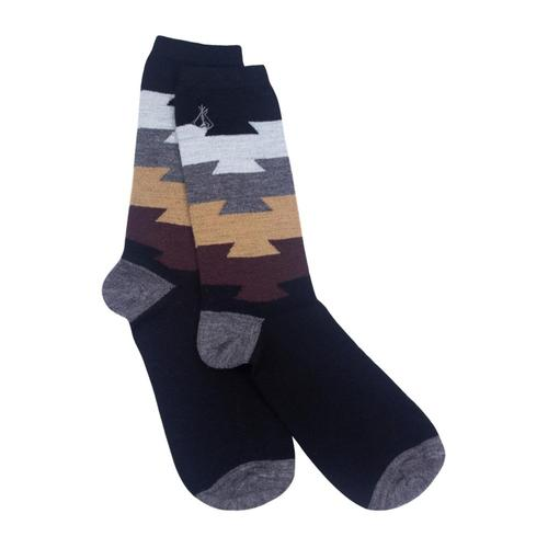 Pendleton Unisex Color Block Crew Socks Black