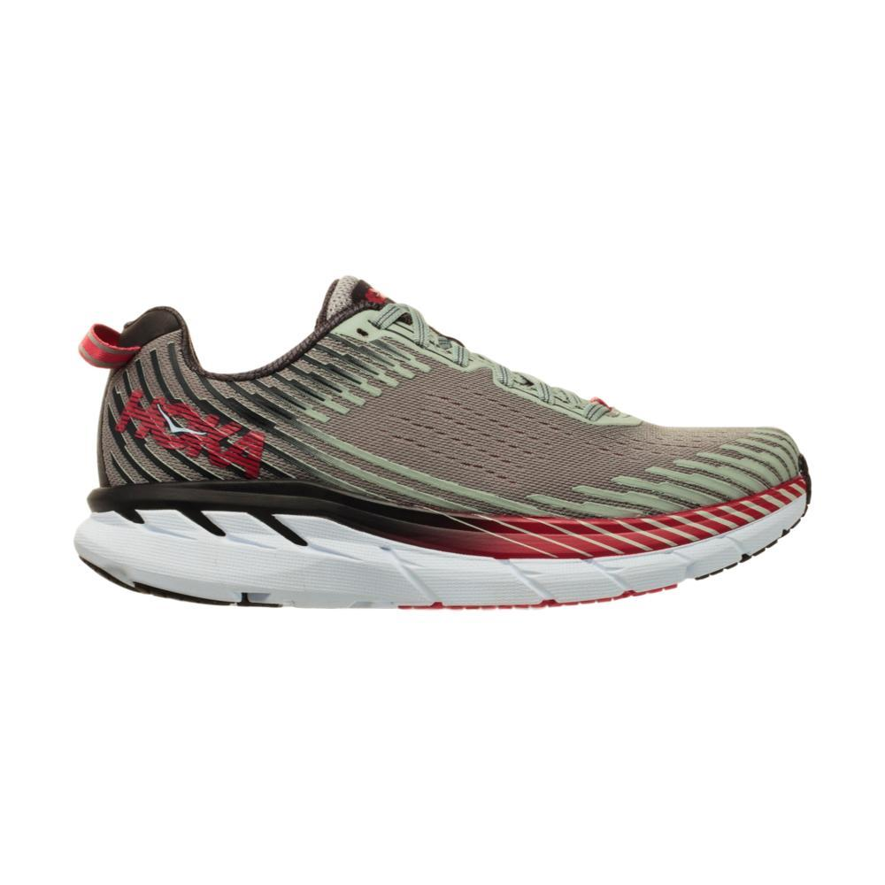 HOKA ONE ONE Women's Clifton 5 Running Shoes ALLOY/METAL