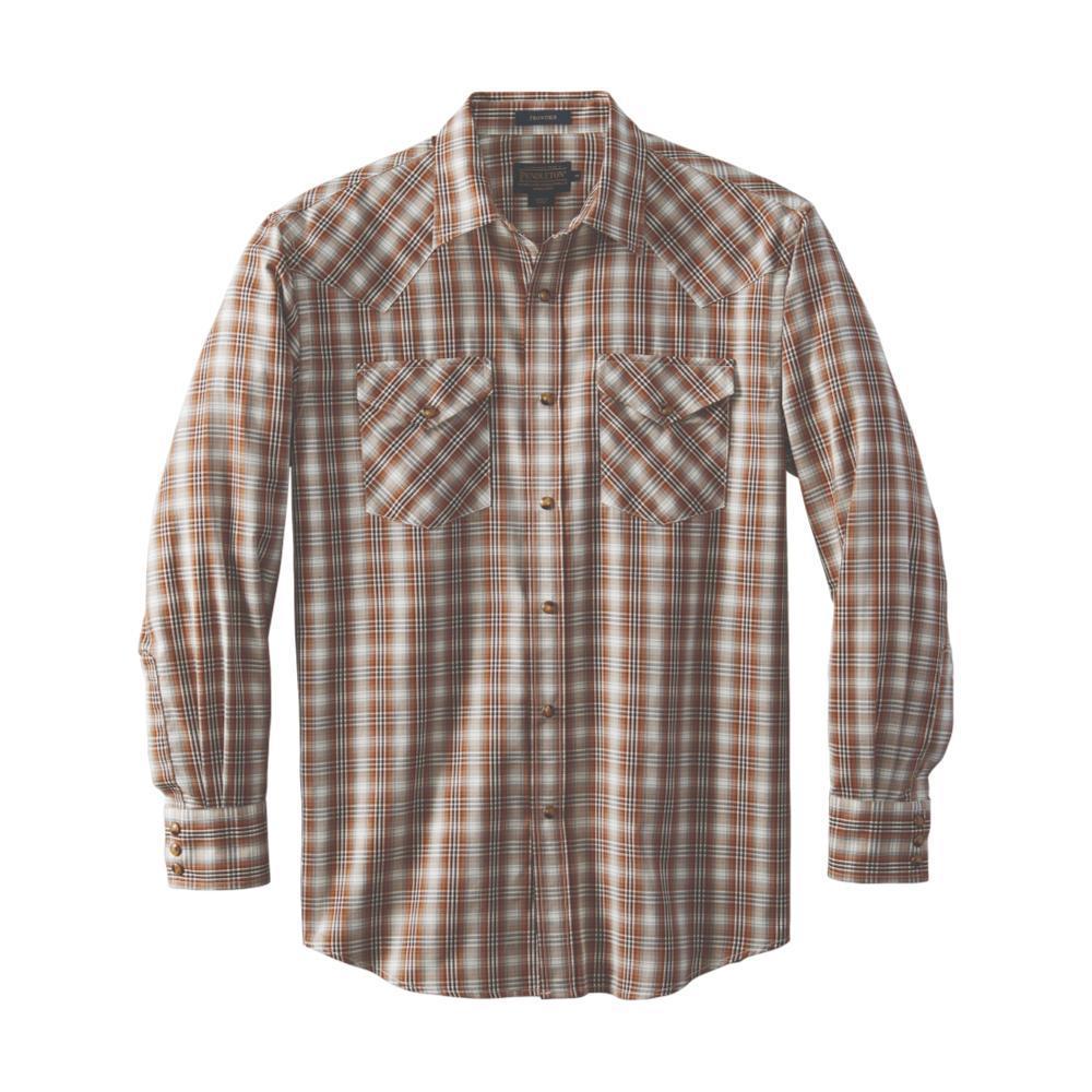 Pendleton Men's Herringbone Frontier Shirt BROWNTAN