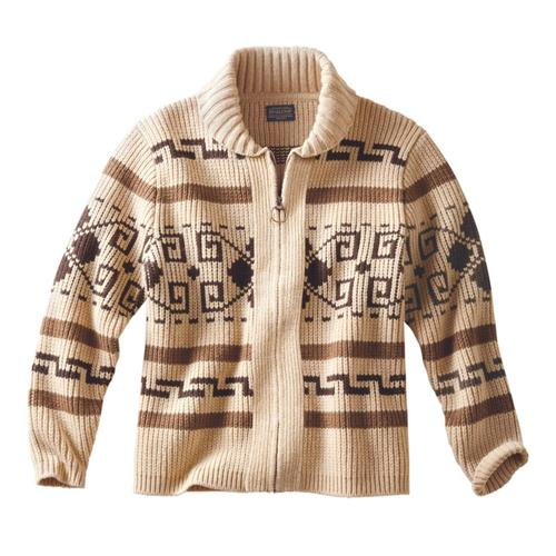 Pendleton Men's The Original Westerley Cardigan Tan/Brown