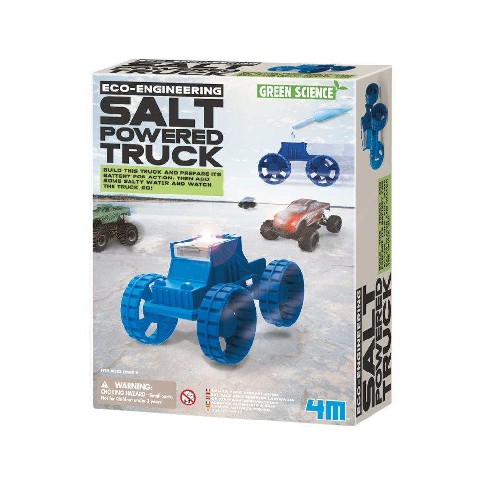 4m Green Science Salt- Powered Truck Kit