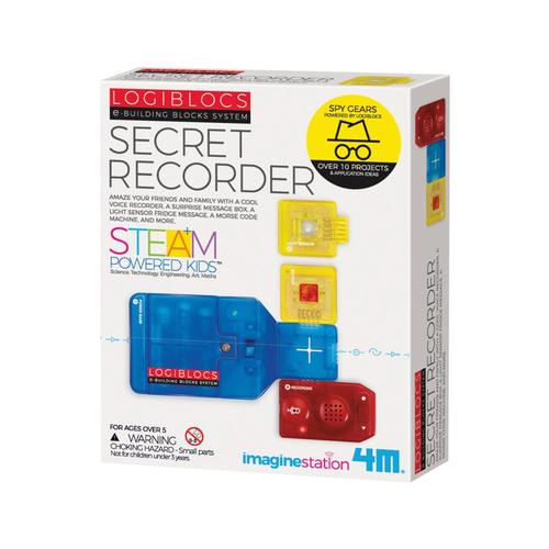 4M Logiblocs Secret Recorder Kit