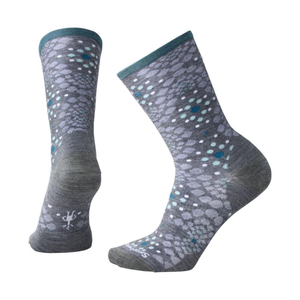 Smartwool Women's Pompeii Pebble Crew Socks MDGRAYH_084