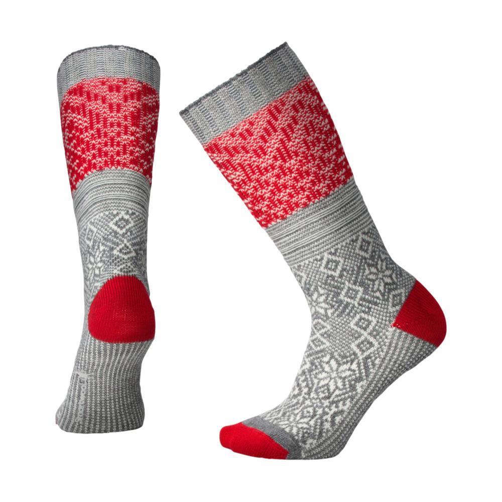 Smartwool Women's Snowflake Flurry Socks MDGRAY_052