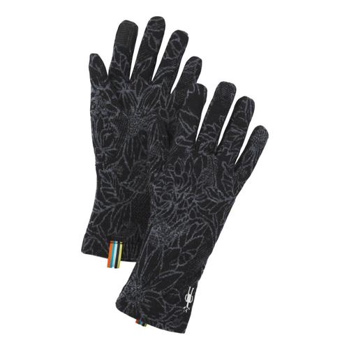 Smartwool Merino 250 Pattern Gloves Blackd_e42