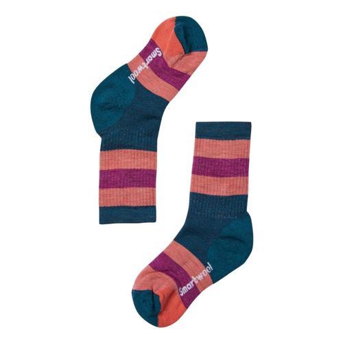 Smartwool Kids Striped Hike Medium Crew Socks Dpmarl_c51