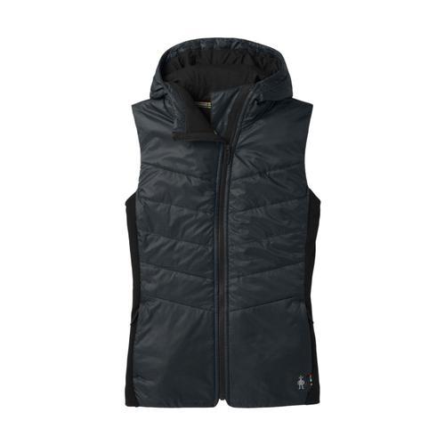 Smartwool Women's Smartloft 60 Hoodie Vest Black_001