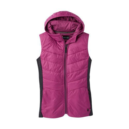 Smartwool Women's Smartloft 60 Hoodie Vest Sangria_b48