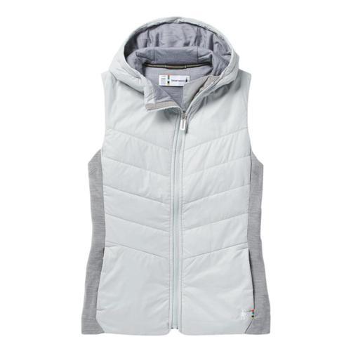 Smartwool Women's Smartloft 60 Hoodie Vest Stgrey_c24