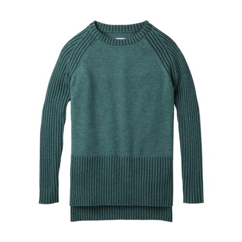 Smartwool Women's Ripple Creek Tunic Sweater Meditgreen