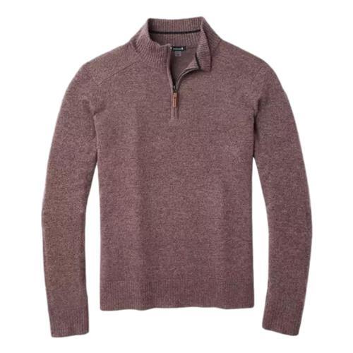 Smartwool Men's Sparwood Half Zip Sweater Bourbonc42