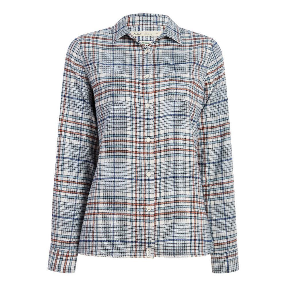 Woolrich Women's Pemberton Flannel Shirt IVORYMIX