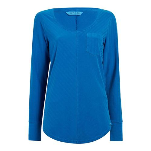 Woolrich Women's Meadow Forks Long Sleeve T-Shirt Mountsky