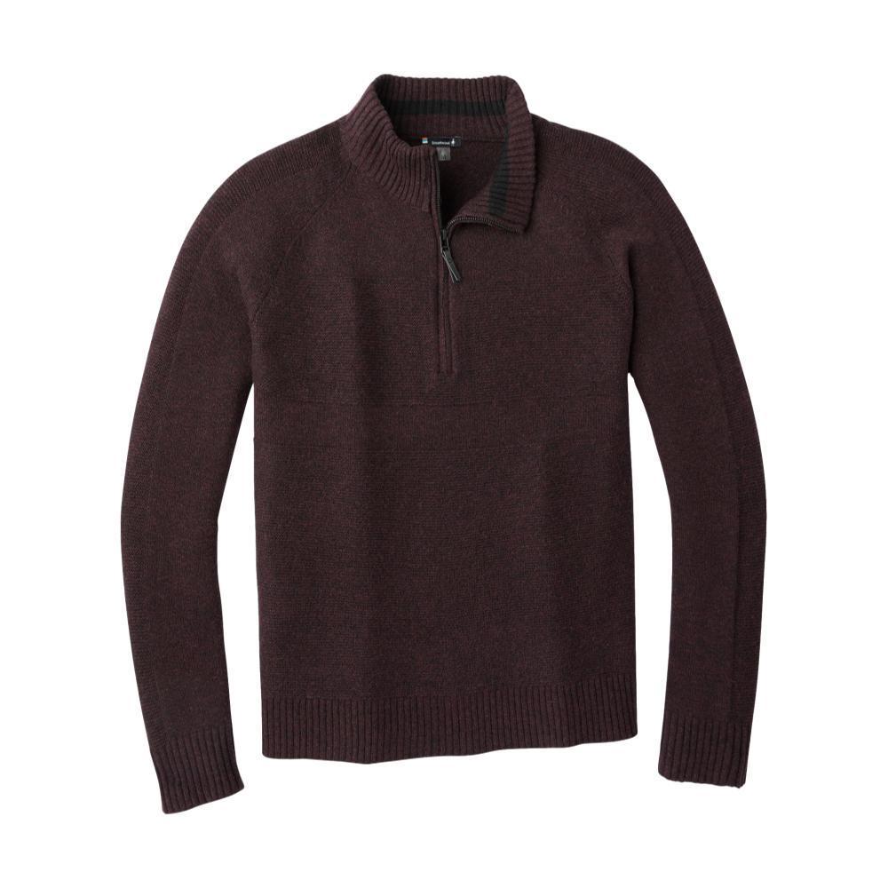 Smartwool Men's Ripple Ridge Half Zip Sweater WOODSMOKEC39