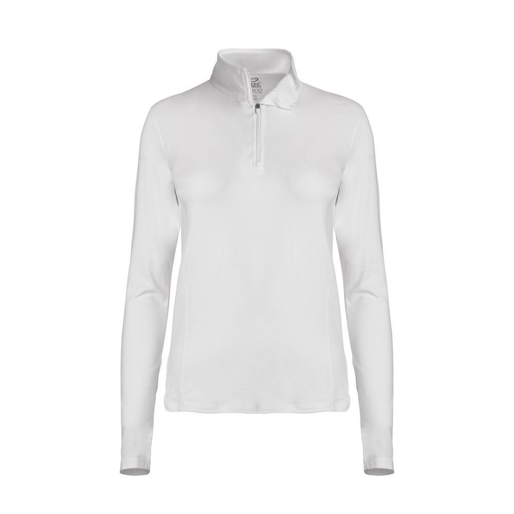tasc Women's NOLA 1/4-Zip WHITE