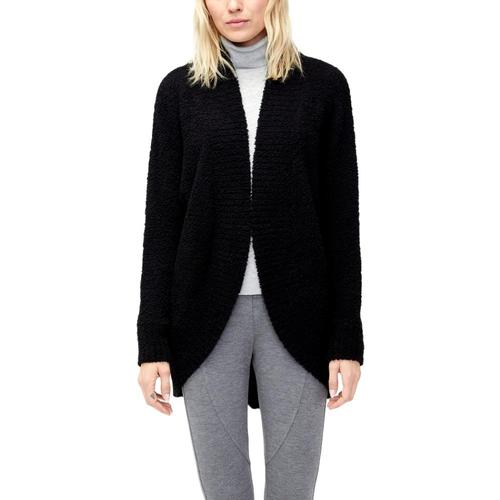 UGG Women's Fremont Fluffy Knit Cardigan Black