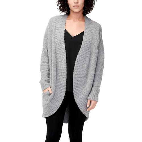 UGG Women's Fremont Fluffy Knit Cardigan Grey