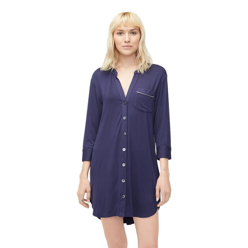 UGG Women's Vivian Knit Sleep Dress NAVY
