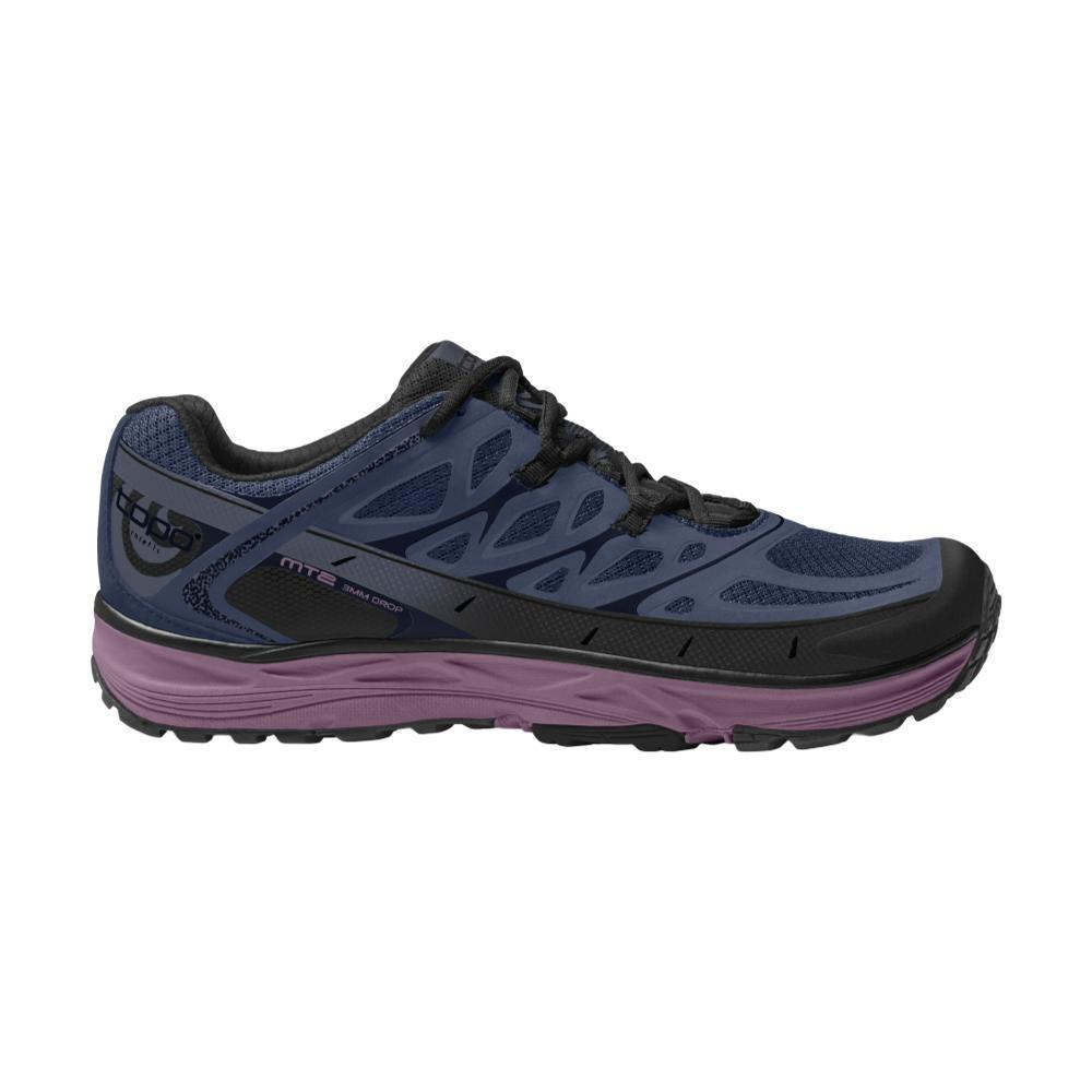 Topo Athletic Women's MT-2 Trail Running Shoes BLUE/PURP