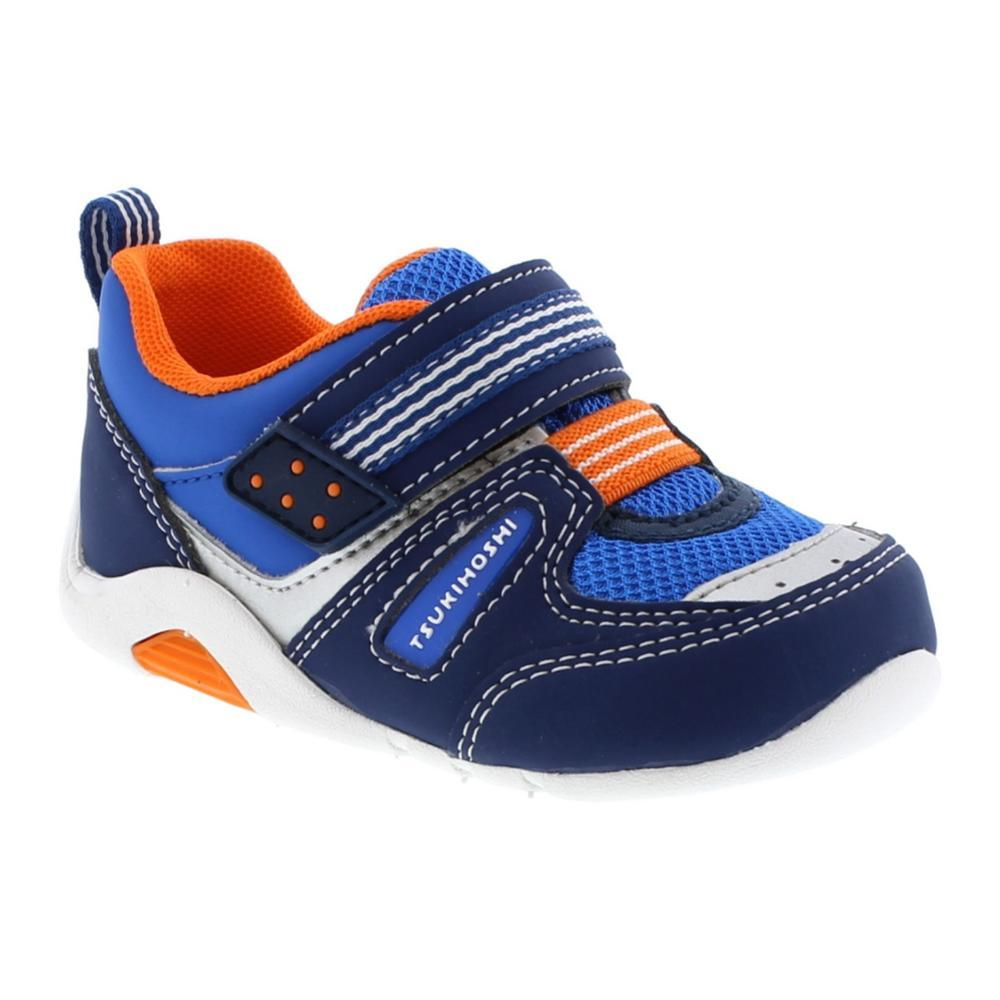 Tsukihoshi Toddler Neko Shoes NVY/TANG411