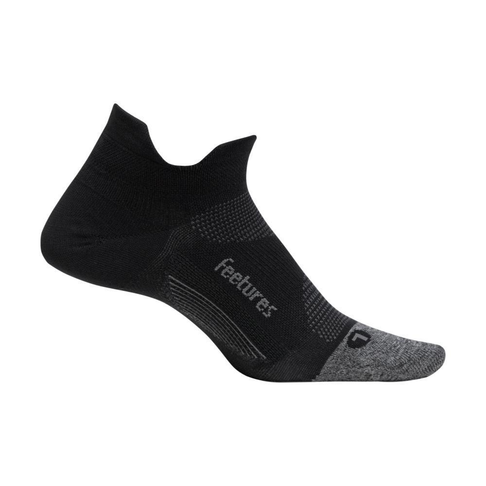 Feetures Elite Ultra Light Cushion No-Show Socks BLACK